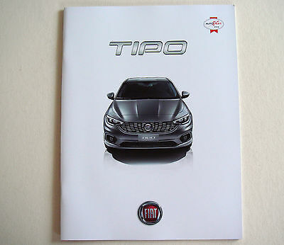 Fiat . Tipo . Fiat Tipo . August 2016 Sales Brochure