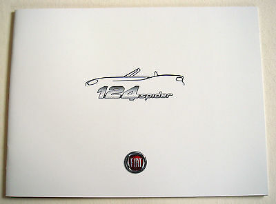 Fiat . 124 Spider . February 2016 Sales Brochure