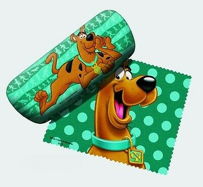 Scooby Doo Eyeglass Case with Cleaning Cloth NEW