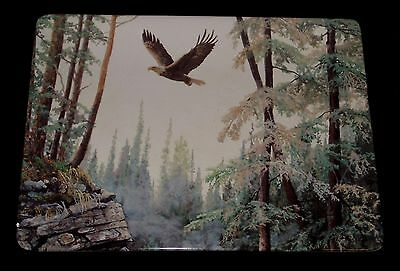 Limited Edition Bradford Exchange Ceramic Plate An Eagle Rules The Heights Vgc