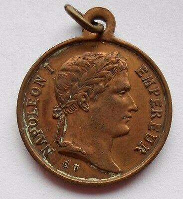 1853 Napoleon I Tomb Inauguration French Second Empire Historic Token / Medal