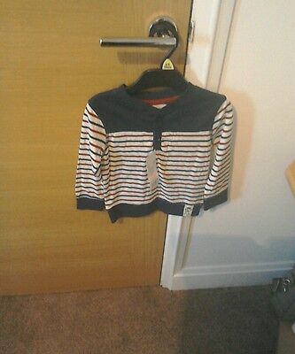New with tags florance and fred boys long sleeve top age 18-24 months