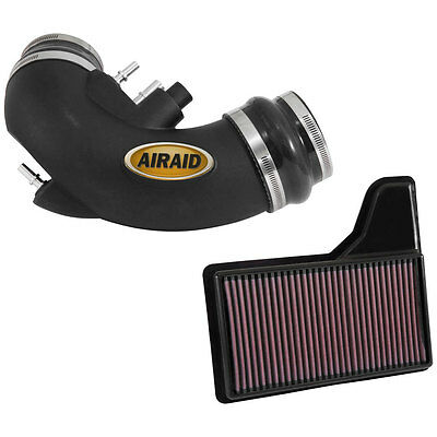 Airaid 450-732 Mustang Jr. Intake Kit With Oiled Filter GT 2015-2017