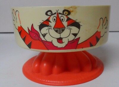 Vintage Kellogg's Tony The Tiger - Pedestal Bowl with Tiger Feet
