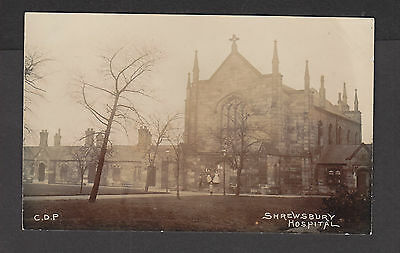 RP Postcard  Shrewsbury  Hospital  C D P