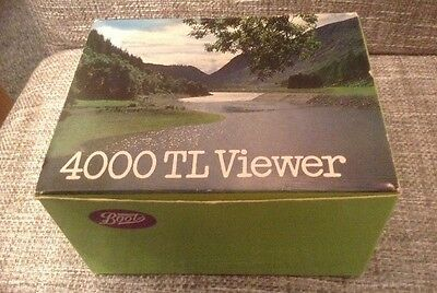 Vintage Boots 4000TL Slide Viewer With Box And Instructions