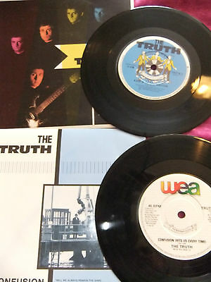 The Truth, 2 Single Records. Confusion. A Step In The Right Direction. Excellent