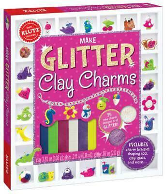 Make Glitter Clay Charms by Editors Of Klutz (English) Book & Merchandise Book