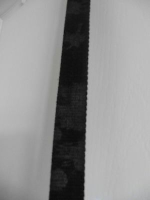 Boys Grey Splodgy Printed Material Belt 29 inches long