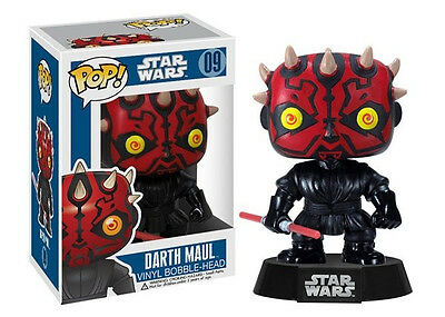 Star Wars Ep I Phantom Menace Darth Maul Vinyl POP! Figure Toy #09 FUNKO NEW MIB