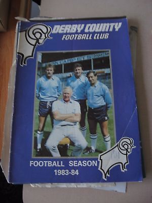 1983-84  Derby County Football Club - Handbook
