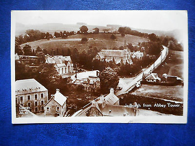 Jedburgh From Abbey Tower. Real Photograph Postcard 1932.