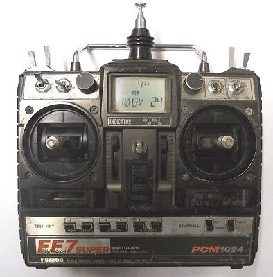 Futaba Ff7 Fp-T7Ups 7 Channel Transmitter 35 Mhz Mode 2 Ideal 2.4Ghz Conversion