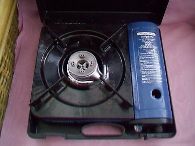 Camping Stove And Whistling Kettle.