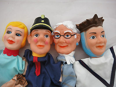 Collection of Four Hand Puppets