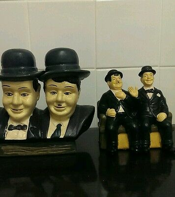 laurel and hardy ornaments collectors items