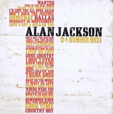 Alan Jackson 34 Number Ones 2 Disc Cd Country 2011 Brand New