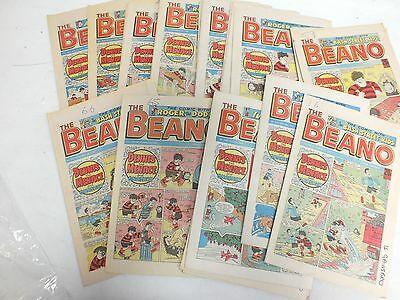 Vintage Collection X27 BEANO COMICS From 1987/88 - A19