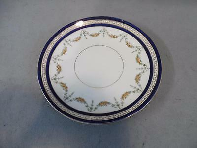 """Gorgeous Vintage Queens China Sandwich / Cake Plate - 9"""" diameter"""