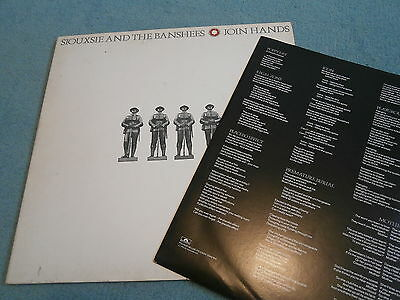 Siouxsie & The Banshees Join Hands Gatefold Punk Goth The Creatures Lords Prayer