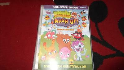 Topps Moshi Monsters Trading Card Binder + Cards