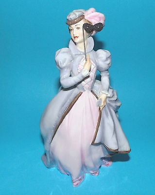 ROYAL WORCESTER Figurine  ' Masquerade '  ornament 1st Quality