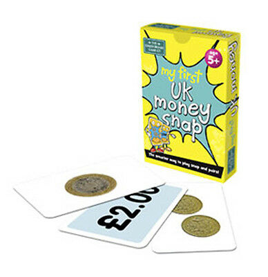 Brainbox My First UK Money snap cards - The smarter way to play snap and pairs