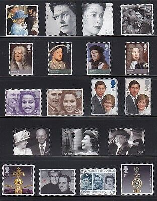 Great Britain - More & More Royalty - For Your Collection