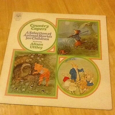 VINYL LP (COUNTRY CAPERS) By ALISON UTTLEY 1970 Mr Mint Cond