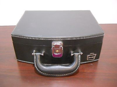 #AA New caboodles train case makeup cosmetic orgainzer storage travel briefcase