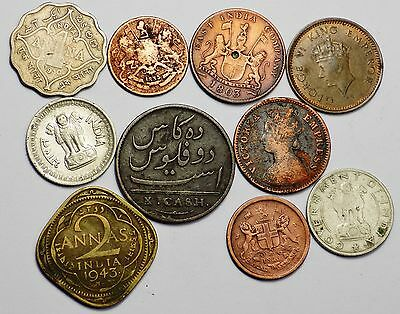 India 10 Old Coins