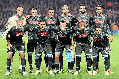 Napoli Football Team Photo 2013-14 Season