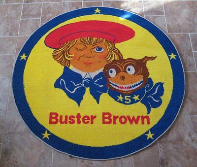 Sharp Buster Brown Store Rug Never Used