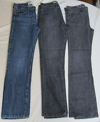 Lot of 3 Pair Boy's Jeans Size 20 : Levi's 514, Nautica, Univibe Skinny : 6350