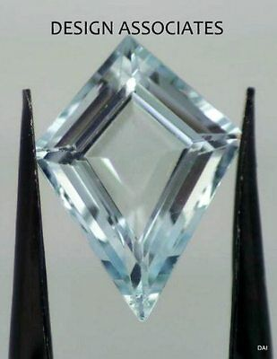 Aquamarine 16X12.5 Kite Cut Outstanding Blue Color All Natural