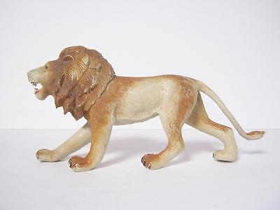 1985 Imperial Hard Plastic Lion Toy Animal Figure