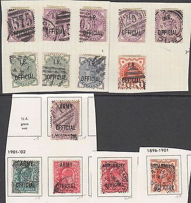 GREAT BRITAIN OFFICIALS SPECIALIST COLLECTION LOT ALL APPEAR SOUND 99c NO RESER