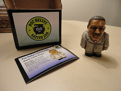Harmony Kingdom Ball Pot Bellys Belly  Retired Martin Luther King Jr NEW Retired