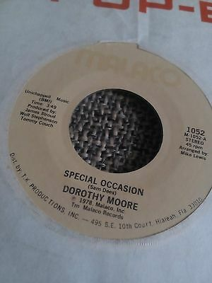 """Dorothy Moore - Special Occasion 7"""" single EX"""