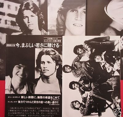 Andy Gibb Donny Osmond 1977 Clipping Japan Magazine Rs 12A 9Page