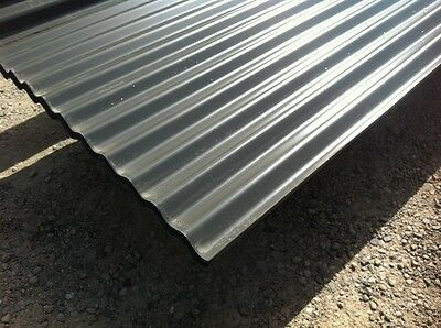 Clearance Colorbond Woodland Grey Corrugated 5250mm Roofing Sheets 1161