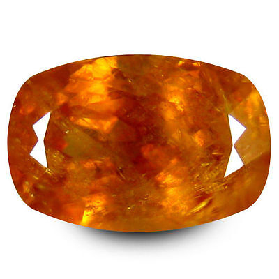2.750Cts Excellent Luster Yellow Natural Cushion  Loose Gemstones