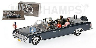 JFK Presidential Parade Vehicle X-100 Lincoln Continental Minichamps