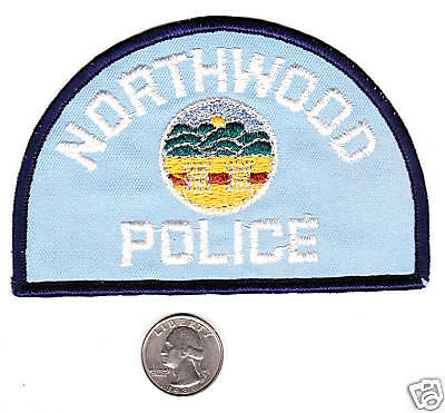 POLICE PATCH NORTHWOOD POLICE Department State Ohio OH