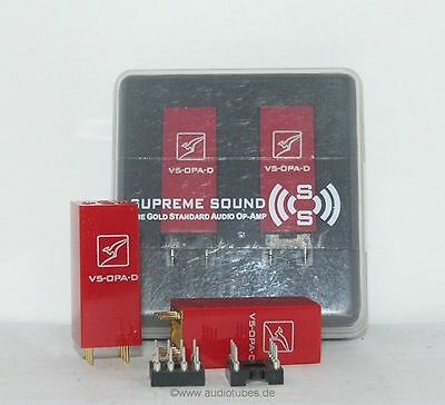 1 x Burson Audio Dual Opamp Upgrading for your system (one unit)
