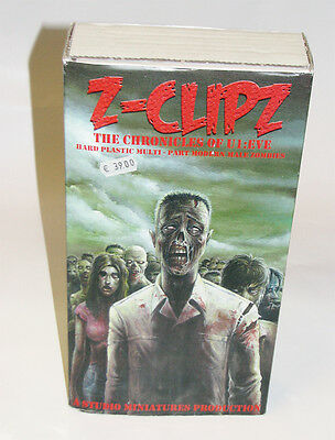 Z-Clips - The Chronicles of U1: Eve - 60 männliche Plastikzombies