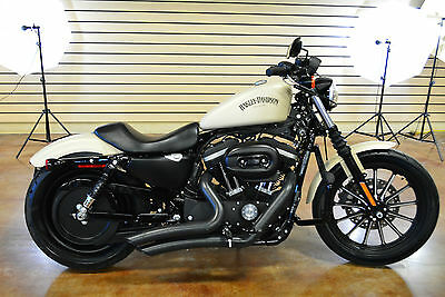2014 Harley-Davidson Sportster  2014 Harley Davidson Sportster XL883 Iron 750 Miles Like New Dealer Over Stock