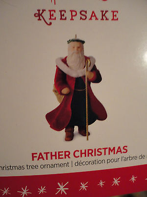 Hallmark Ornament MINIATURE Father Christmas Santa Claus 2016 NEW