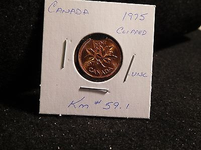 CANADA: 1962 ERROR ( missing M on MG ) COIN (UNC) (#4) KM