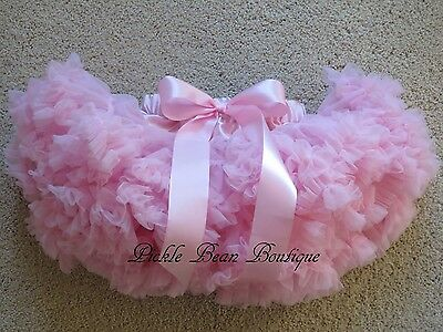 Girls Pink Pettiskirt Tutu, 9-24 mo, Baby Toddler Kids, 1st Birthday Tutu